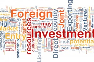 word cloud image foreign direct investment market entry