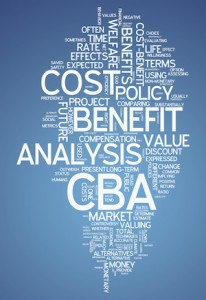 word cloud economic benefit cost impact value discount rate